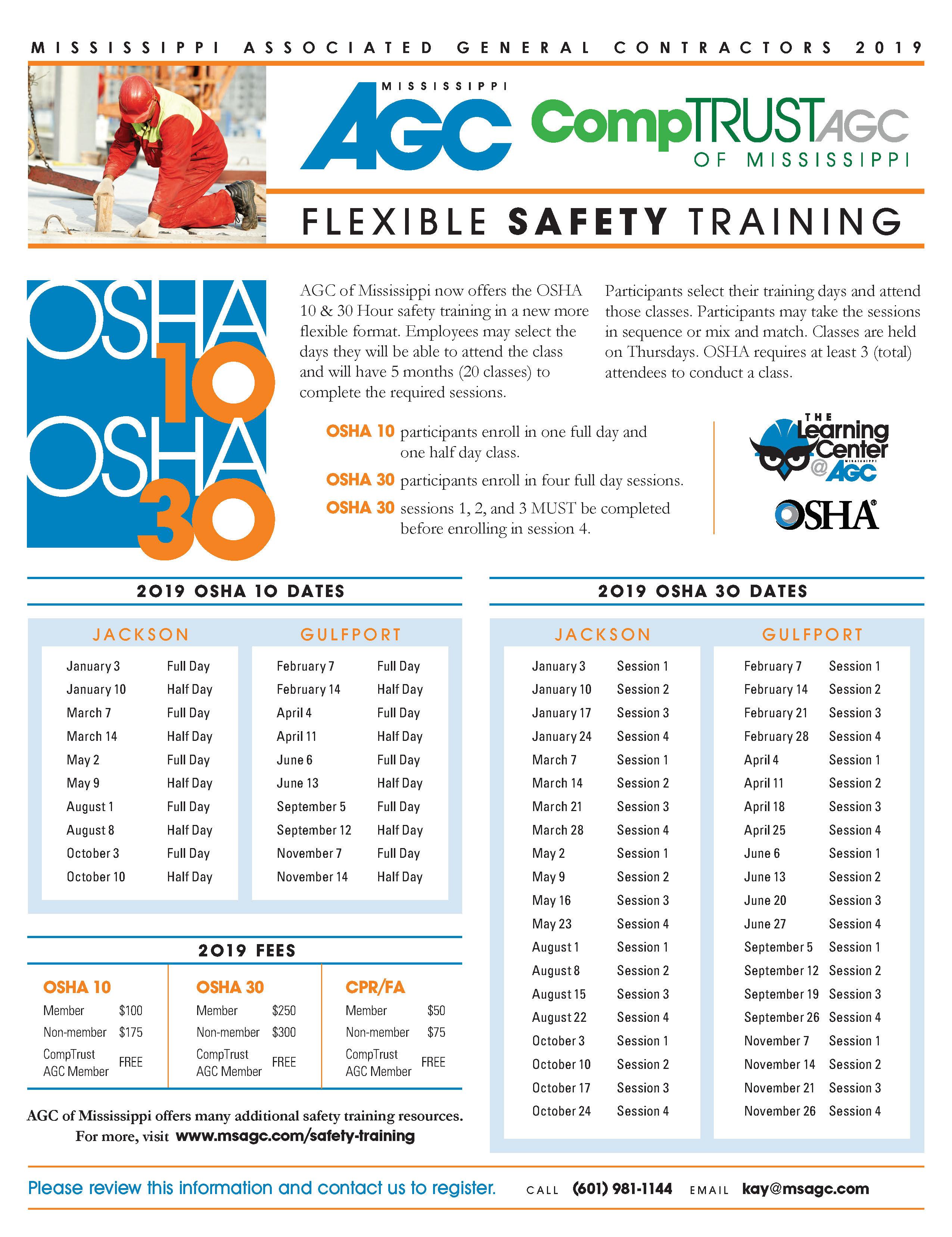 Safety & Training :: MSAGC